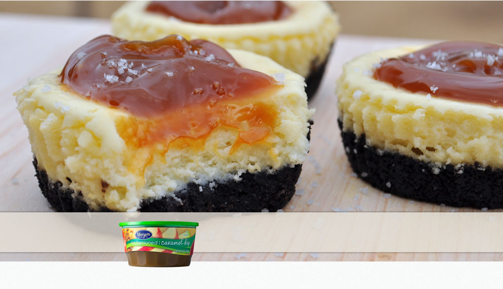 Made with Marzetti Old Fashioned Caramel Dip