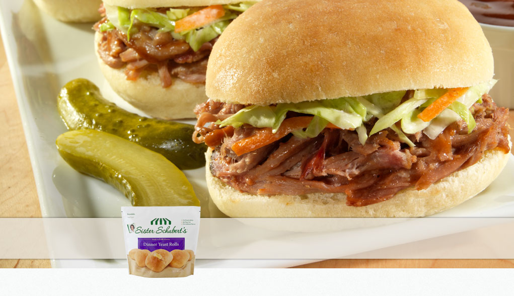 Barbecue Pulled Pork Mini Sliders