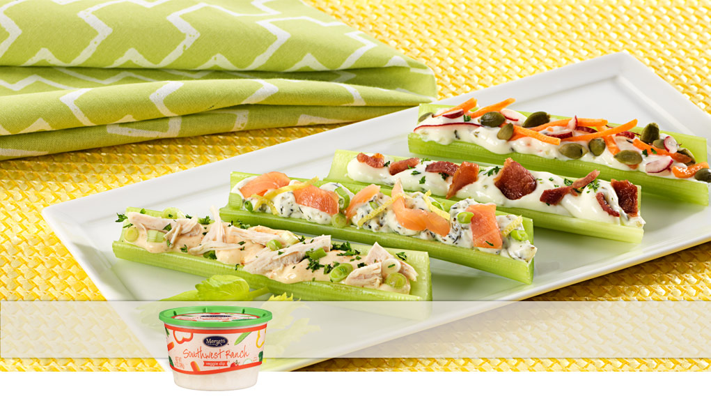 Made with Marzetti Dips