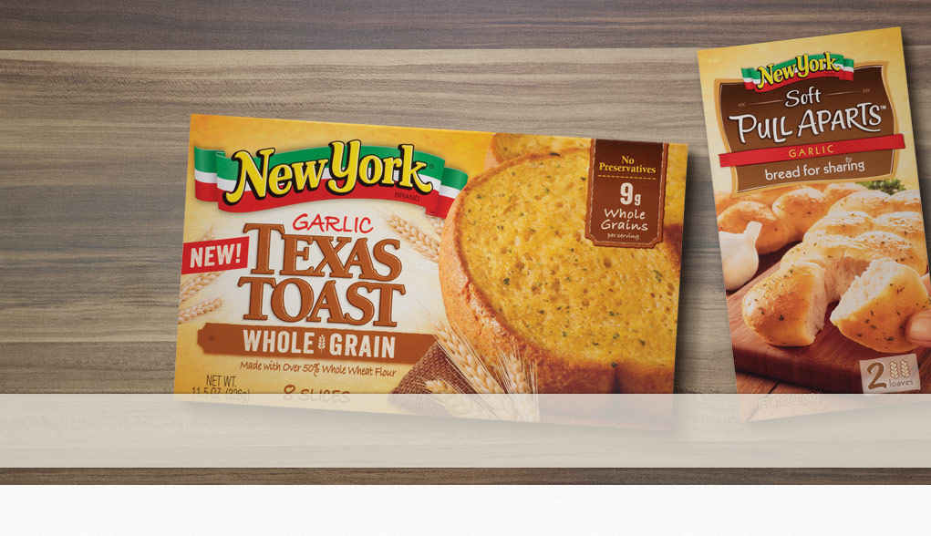 New York Brand Soft Pull Apart Loaves