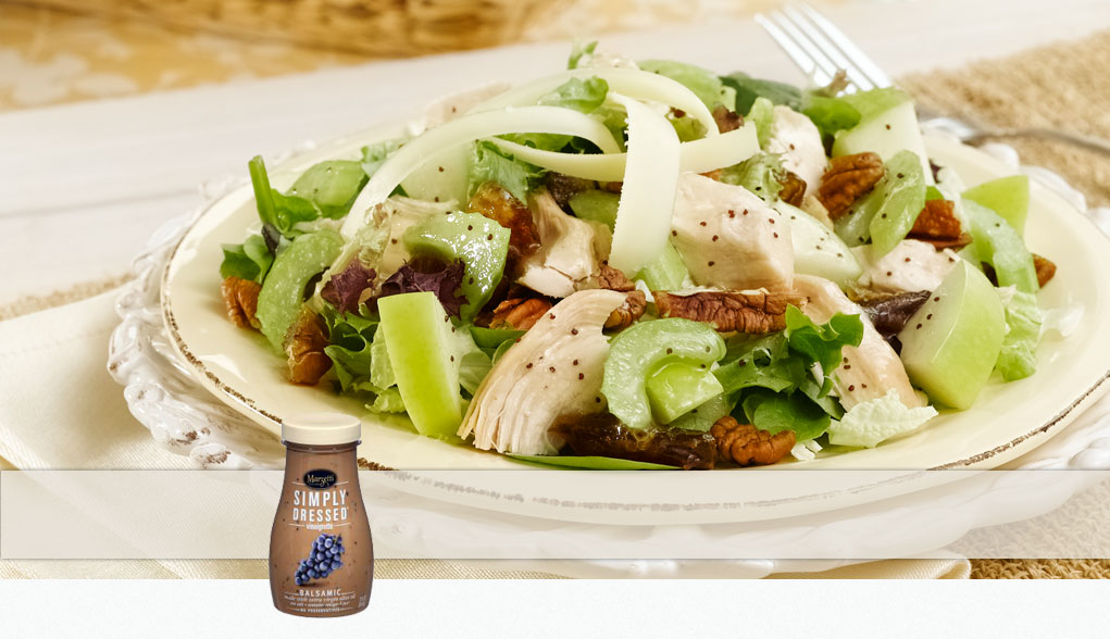 Made with Marzetti Simply Dressed Balsamic Salad Dressing
