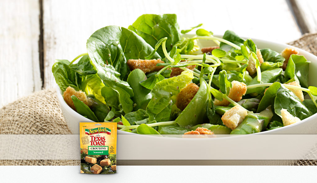 Made with New York Brand® Texas Toast Seasoned Croutons
