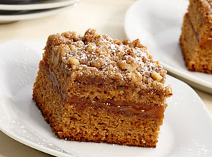 Apple Caramel Crumb Cake Recipe