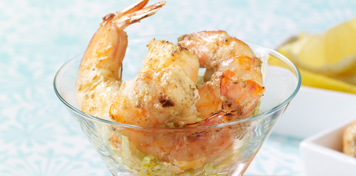 Creole Grilled Shrimp Cocktail Recipe