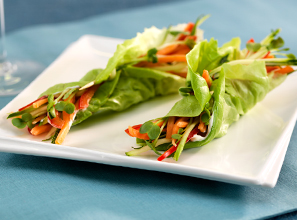Crunchy Lettuce Wraps Recipe