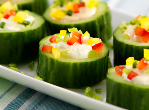 Cucumber Cups Recipe