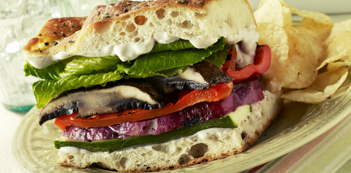 grilled vegetable sandwich recipe marzetti ranch veggie dip is spread ...