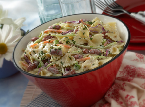 Pasta Slaw Salad Recipe