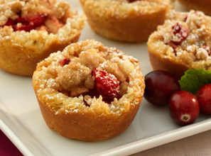 Mini Cranberry Apple Tarts Recipe